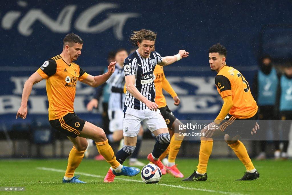 West Bromwich Albion v Wolverhampton Wanderers - Premier League : Nieuwsfoto's