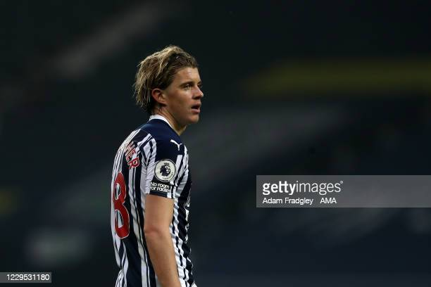 Conor Gallagher of West Bromwich Albion during the Premier League match between West Bromwich Albion and Tottenham Hotspur at The Hawthorns on...