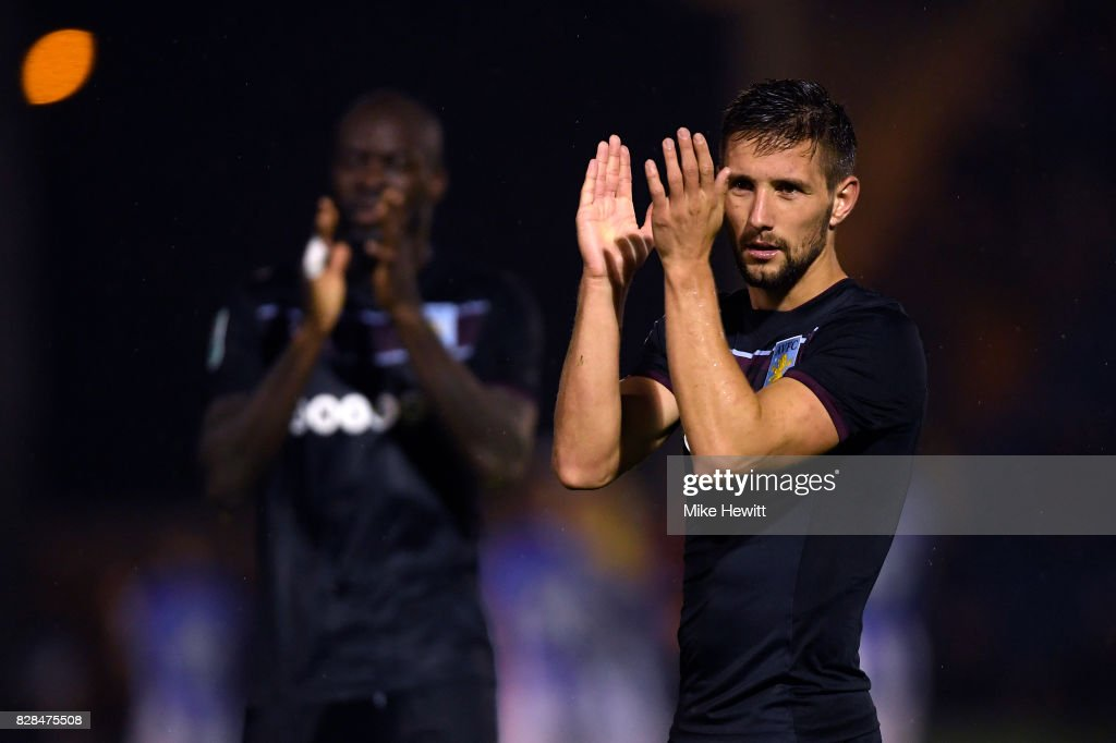 Colchester United v Aston Villa - Carabao Cup First Round : News Photo
