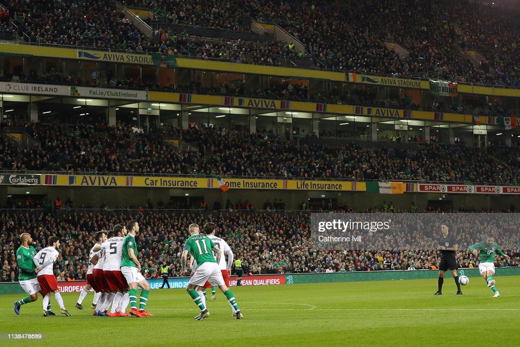 IRL: Republic of Ireland v Georgia - UEFA EURO 2020 Qualifier