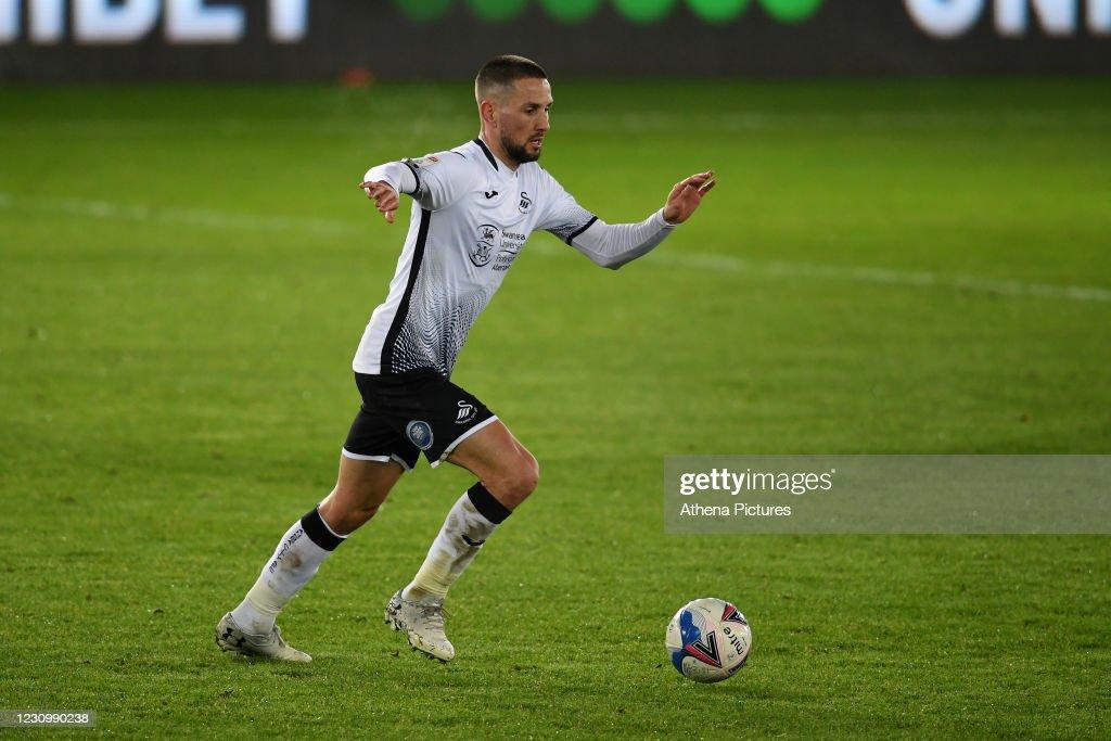 Swansea City v Norwich City - Sky Bet Championship : News Photo