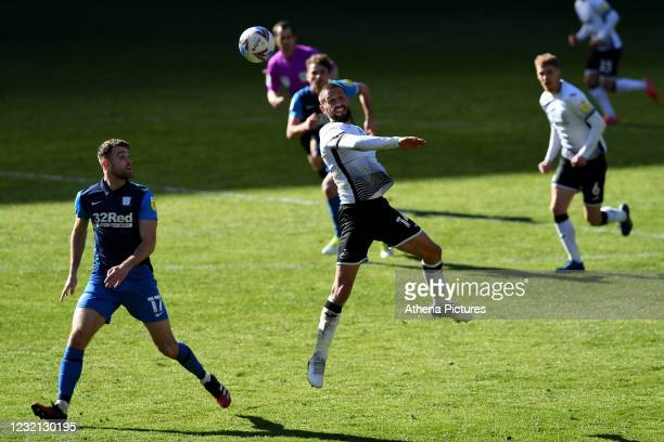 Conor Hourihane of Swansea City in action during the Sky Bet Championship match between Swansea City and Preston North End at the Liberty Stadium on...