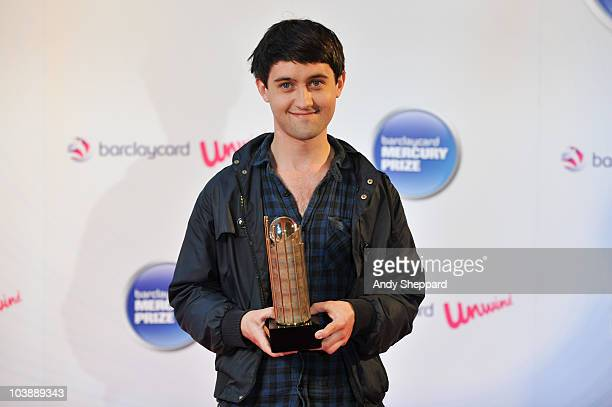 Conor J O'Brien of Villagers arrives as a nominee for the 2010 Barclaycard Mercury Music Prize 2010 at The Grosvenor House Hotel on September 7 2010...