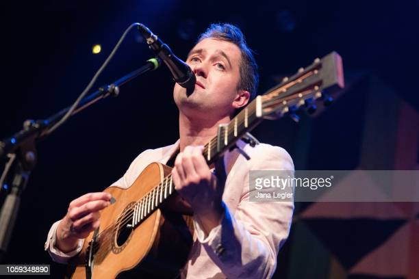 Conor J O'Brien of Villagers performs live on stage during a concert at the Kesselhaus on November 8 2018 in Berlin Germany