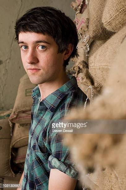 Conor J O'Brien of Villagers poses backstage for a portrait at the Capitol Hill Block Party on July 24 2010 in Seattle Washington