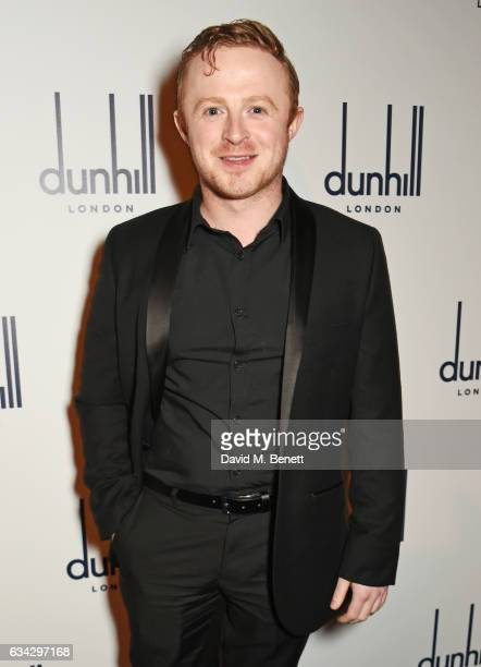 Conor MacNeill attends the dunhill and Dylan Jones preBAFTA dinner and cocktail reception celebrating Gentlemen in Film at Bourdon House on February...