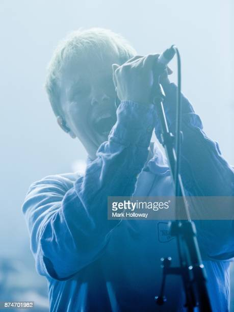 Conor Mason of Nothing But Thieves perform at O2 Guildhall on November 15 2017 in Southampton England