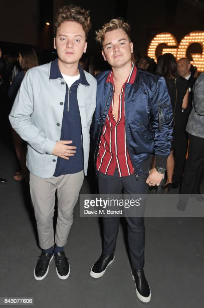 Conor Maynard and brother Jack Maynard attend the GQ Men Of The Year Awards after party at the Tate Modern on September 5 2017 in London England