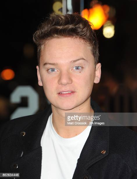 Conor Maynard arriving for the World Premiere of The Hunger Games Catching Fire at the Odeon Leicester Square London