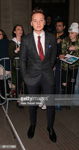 Conor Maynard attending Attitude magazine's 20th birthday party on March 29 2014 in London England