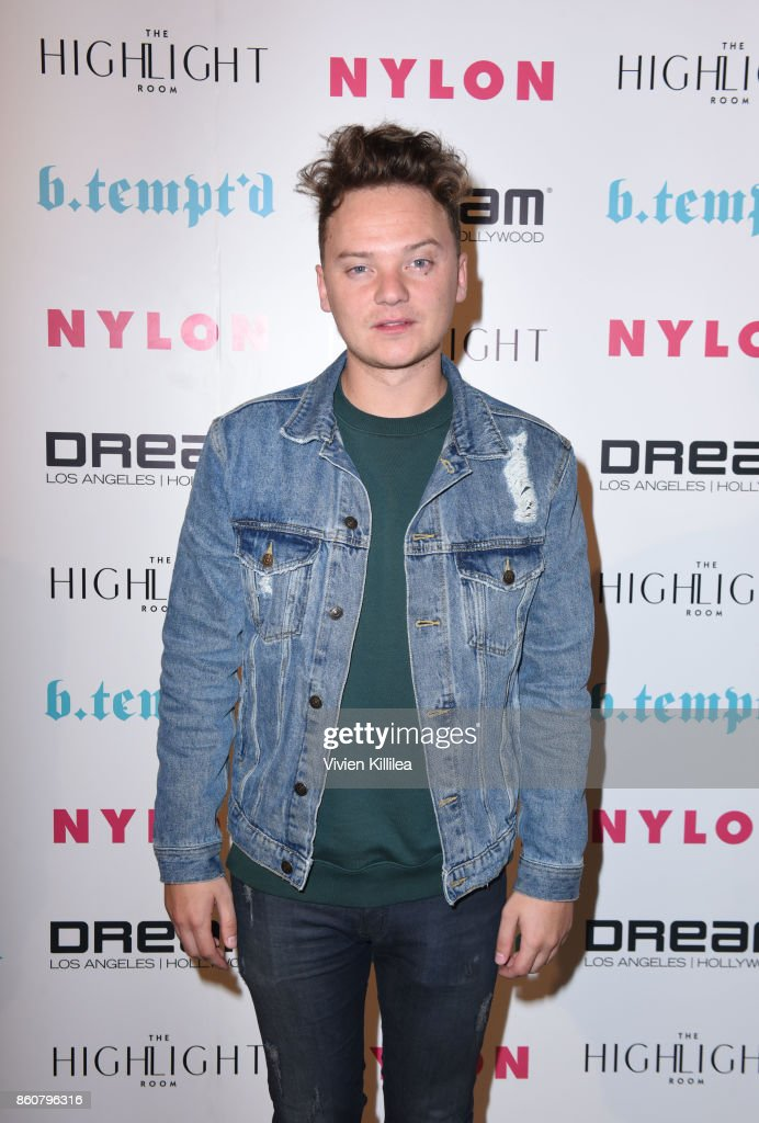 Conor Maynard attends NYLON's It Girl Party At The Highlight Room At Dream Hollywood on October 12, 2017 in Hollywood, California.