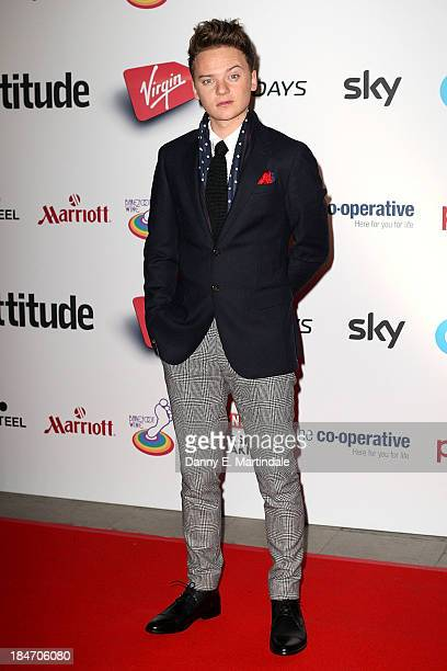 Conor Maynard attends the Attitude Magazine awards at Royal Courts of Justice Strand on October 15 2013 in London England
