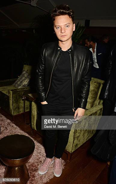 Conor Maynard attends the launch of Restaurant Ours in Kensington on April 27 2016 in London England
