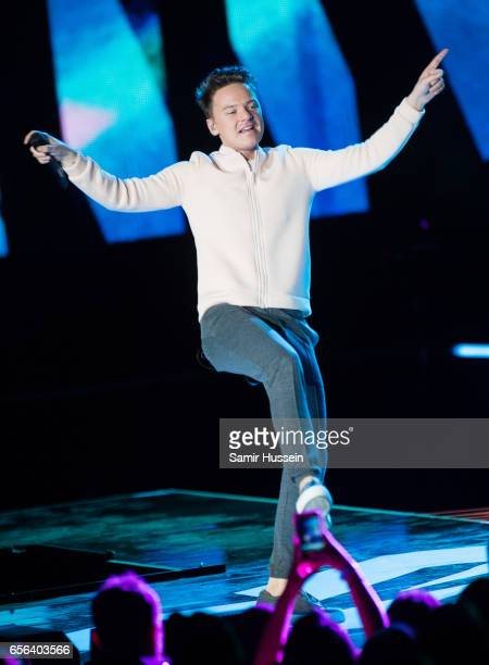 Conor Maynard peforms at WE Day UK on March 22 2017 in London United Kingdom