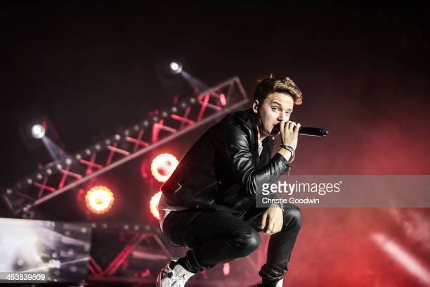 Conor Maynard performs at 02 Arena on December 5 2013 in London England