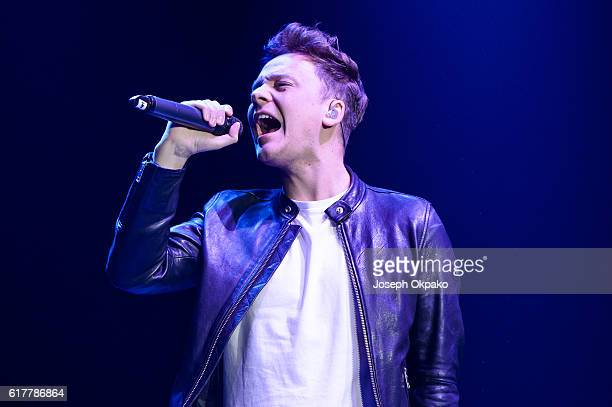 Conor Maynard performs at the Ray of Sunshine concert at Wembley Arena on October 24 2016 in London England