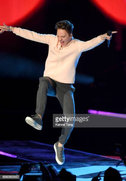 Conor Maynard performs at WE Day UK at The SSE Arena on March 22 2017 in London United Kingdom