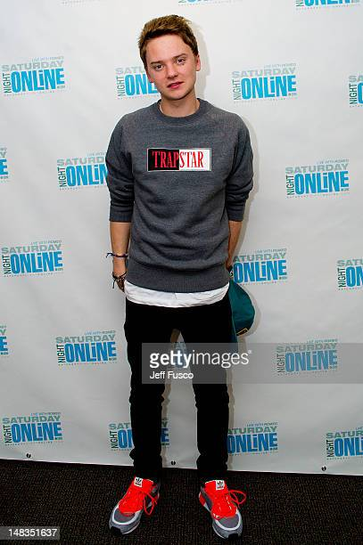 Conor Maynard poses at the WIOQ SNOL iHeart Performance Theater on July 14 2012 in Bala Cynwyd Pennsylvania