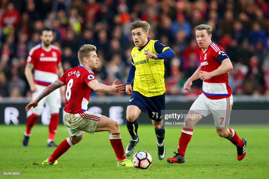 Middlesbrough v Oxford United - The Emirates FA Cup Fifth Round : News Photo