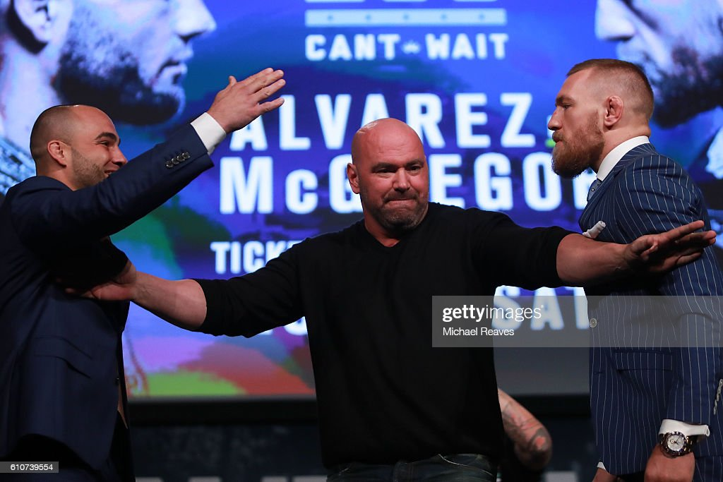 UFC 205 Press Conference : News Photo