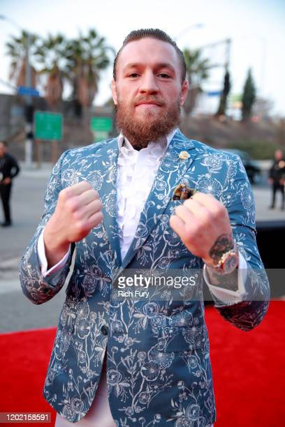 Conor McGregor attends the 62nd Annual GRAMMY Awards at STAPLES Center on January 26 2020 in Los Angeles California