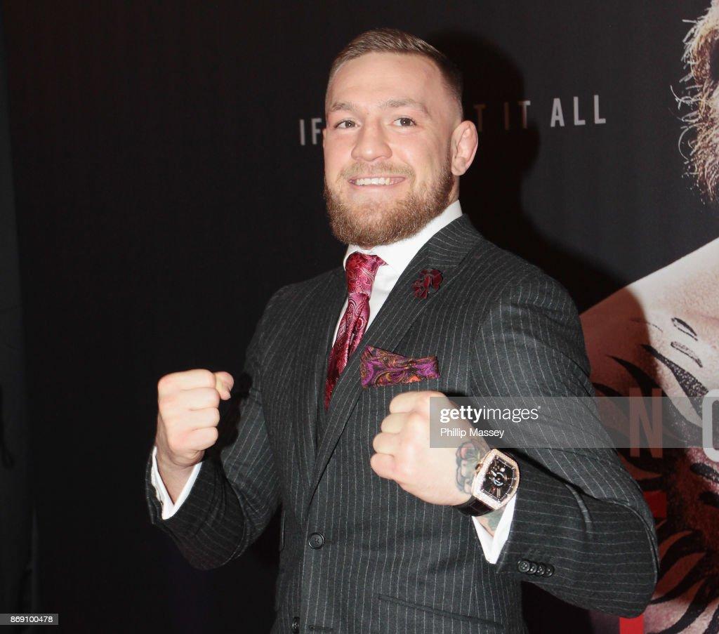 'Conor McGregor: Notorious' Film Premiere - Red Carpet Arrivals : ニュース写真