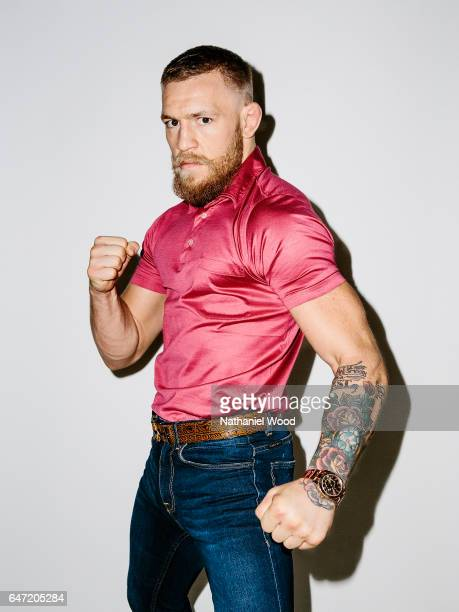 Conor McGregor is photographed for GQcom on August 6 2016 in Las Vegas Nevada