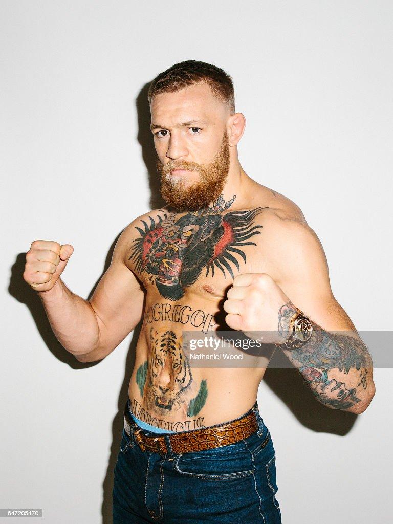 Conor McGregor, GQ.com, August 16, 2016