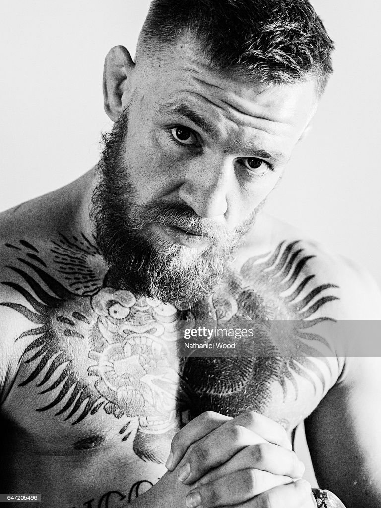 Conor McGregor is photographed for GQ.com on August 6, 2016 in Las Vegas, Nevada.