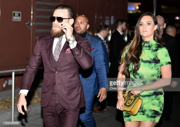 Conor McGregor of Ireland arrives backstage during the UFC 246 event at TMobile Arena on January 18 2020 in Las Vegas Nevada