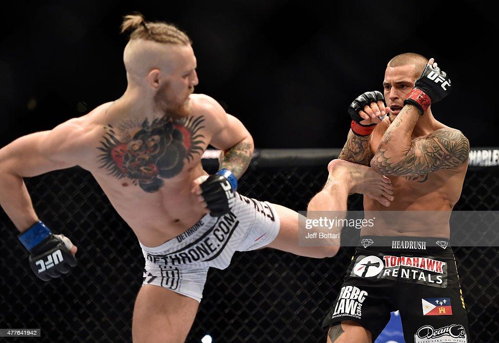 UFC 178 - Poirier v McGregor : News Photo