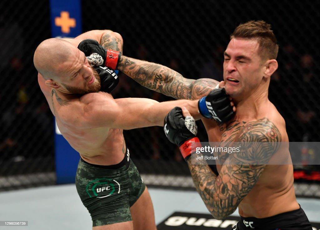 UFC 257: Poirier v McGregor : ニュース写真