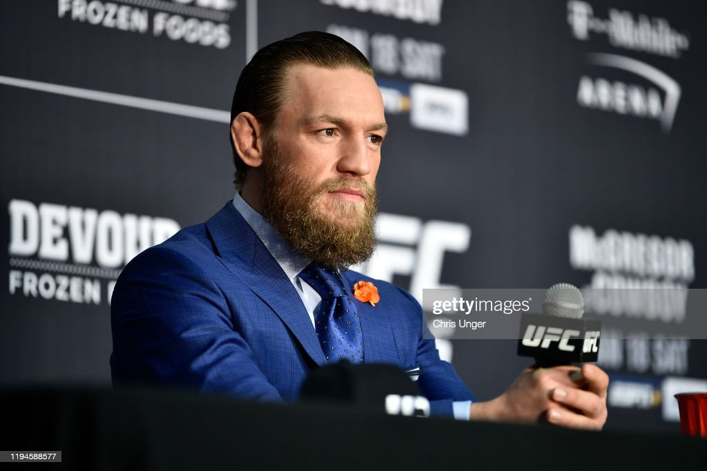 UFC 246: McGregor v Cerrone : Photo d'actualité
