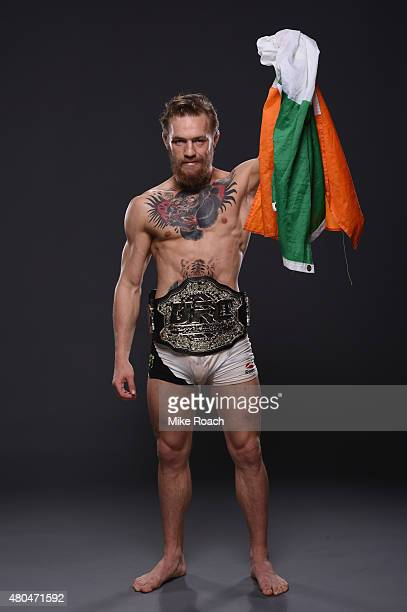 ufc 189 mendes v mcgregor stock photos and pictures