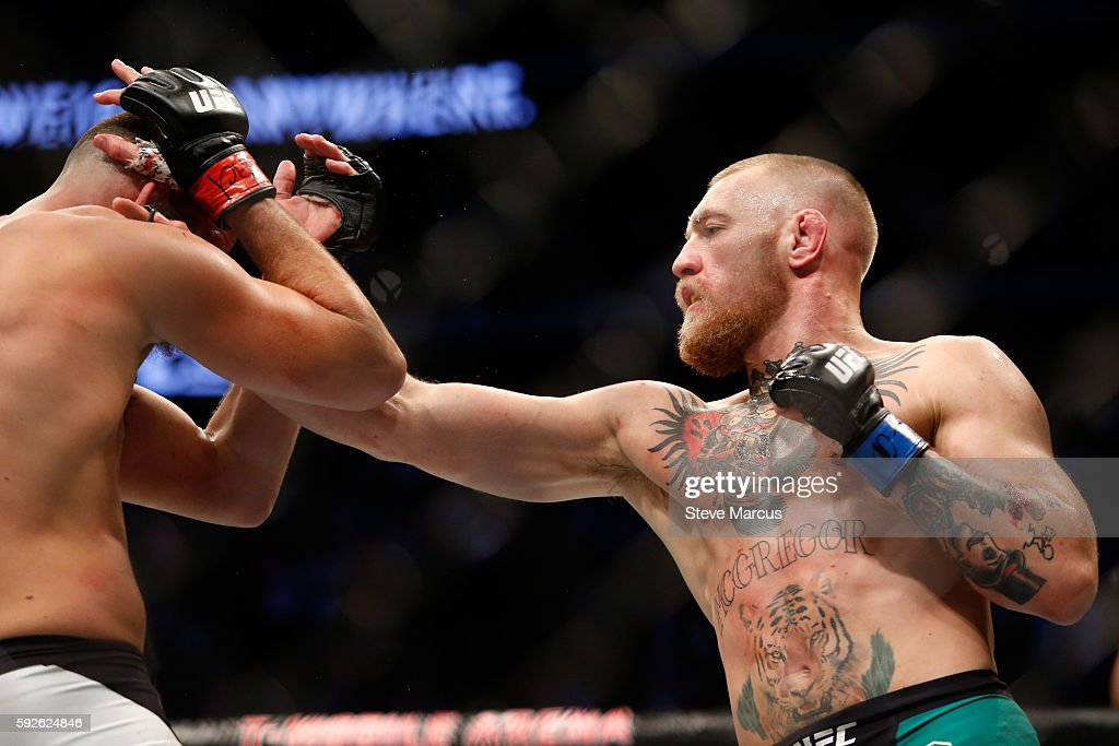 UFC 202: Diaz v McGregor 2 : News Photo