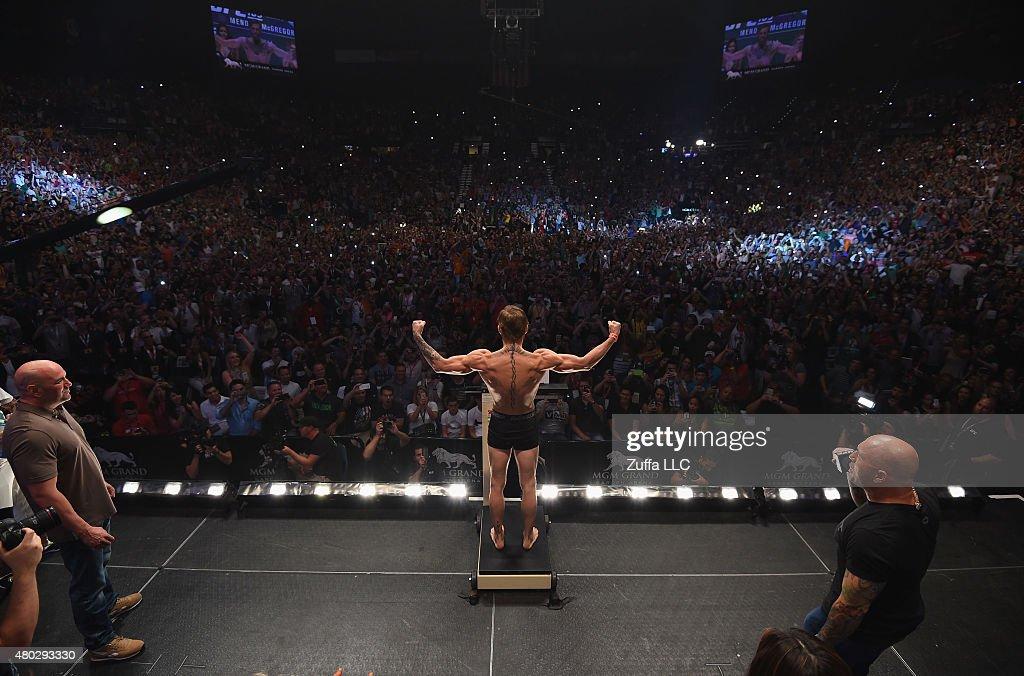 UFC 189 Weigh-in