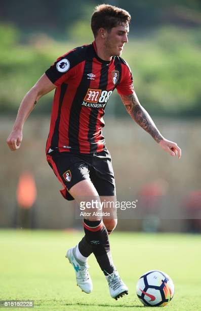 Conor Nahoney of AFC Bournemouth in action during a Pre Season Friendly match between AFC Bournemouth and Estoril Praia at the Marbella Football...