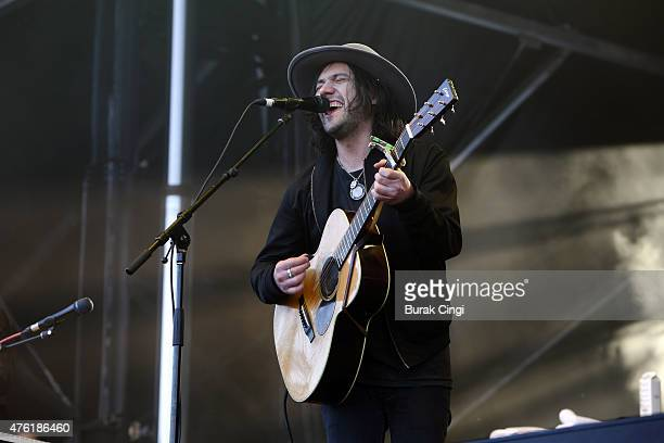 Conor Oberst performs on day 2 of Governors Ball at Randalls Island Park on June 6, 2015 in New York City.