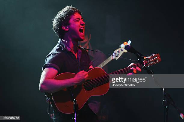 Conor O'Brien of the Villagers performs at Electric Brixton on May 21 2013 in London England
