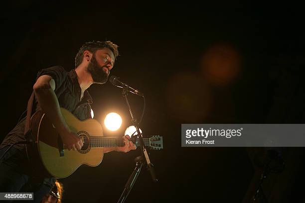 Conor O'Brien of Villagers performs at St Lukes church as part of Sounds from a Safe Harbour on September 18 2015 in Cork Ireland