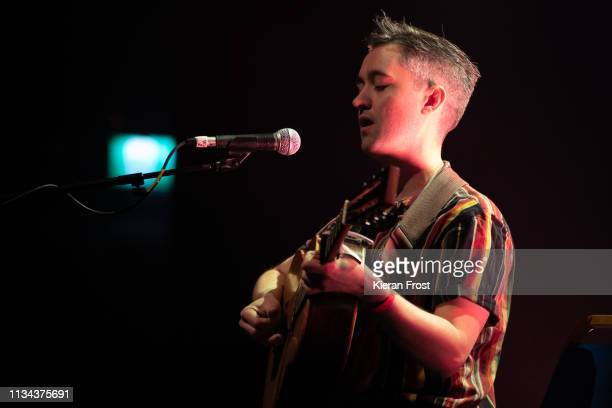 Conor O'Brien of Villagers performs at the RTE Choice Music Prize live ceremony at Vicar Street on March 07 2019 in Dublin Ireland