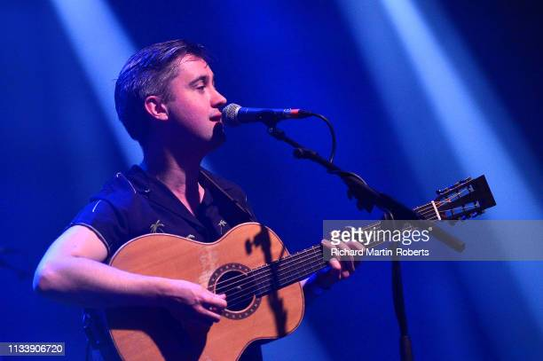 Conor O'Brien of Villagers performs on day two of the BBC 6 Music Festival at Olympia on March 30 2019 in Liverpool England