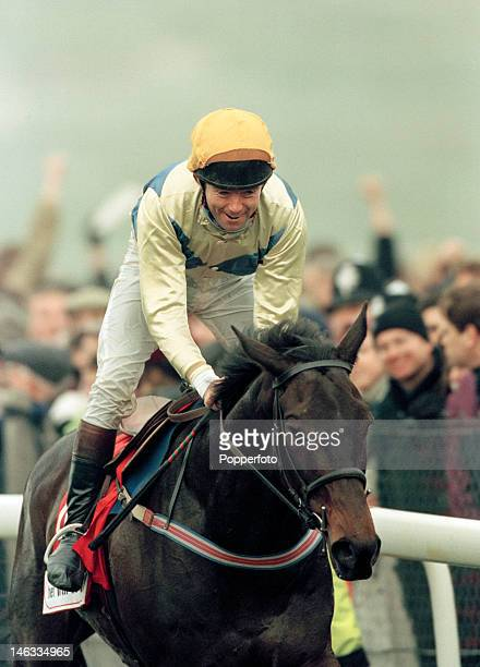 Conor O'Dwyer on Imperial Call wins the Gold Cup at the Cheltenham Festival 14th March 1996