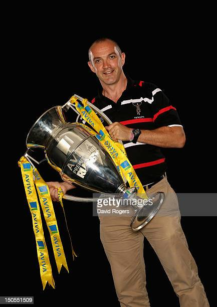 Conor O'Shea Director of Rugby at Harlequins poses during the Aviva Premiership Season Launch 20122013 at Twickenham Stadium on August 20 2012 in...