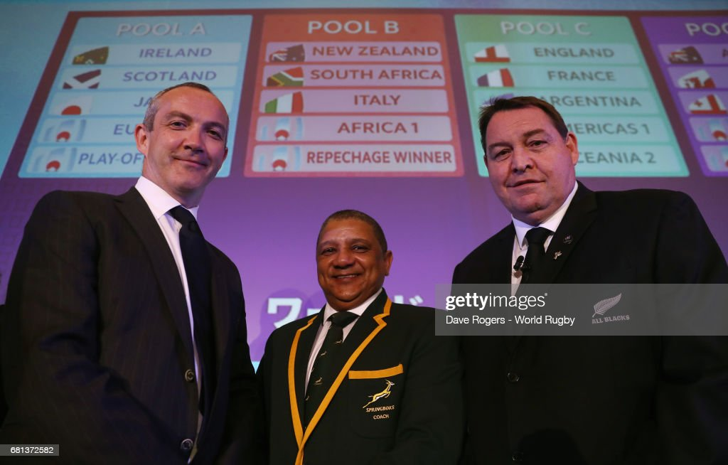 Rugby World Cup Pool Draw