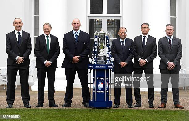 Conor O'Shea Head Coach of Italy Joe Schmidt Head Coach of Ireland Vern Cotter Head Coach of Scotland Eddie Jones Head Coach of England Guy Noves...