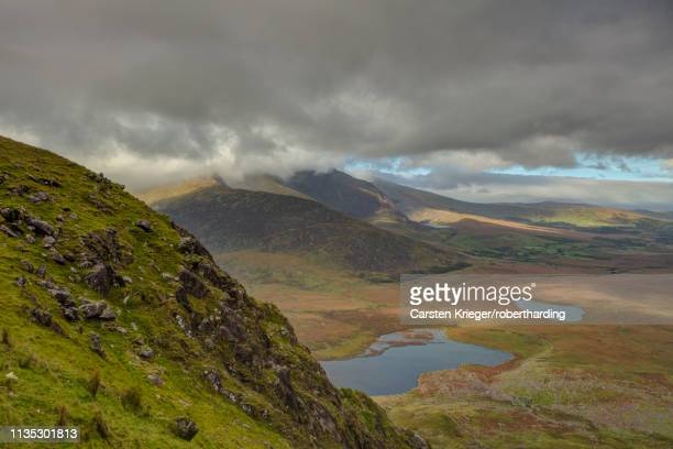conor pass, county kerry, munster, republic of ireland, europe - conor stock pictures, royalty-free photos & images