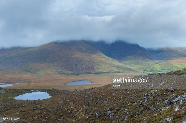 conor pass in Dingle bay in autumn