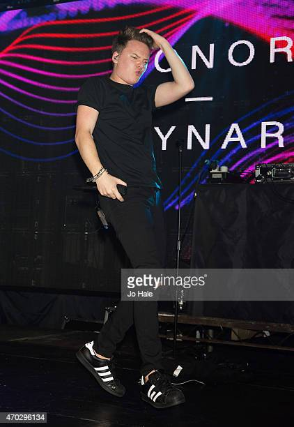 Conor performs on stage at Heaven on April 18 2015 in London United Kingdom