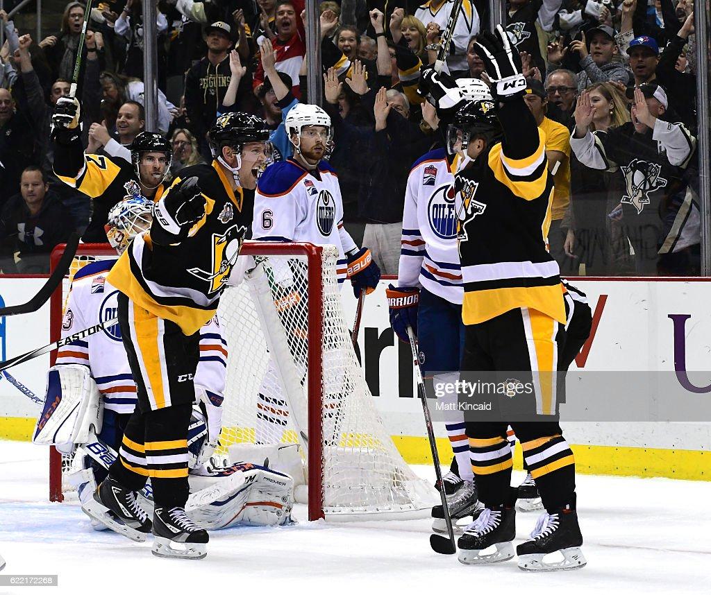 Edmonton Oilers v Pittsburgh Penguins